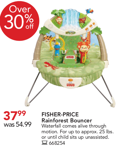 Fisher Price Rainforrest Bouncy Chair