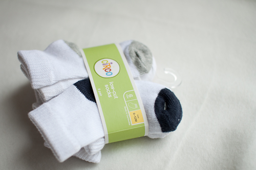 The only socks that stay on baby's feet: Circo from Target