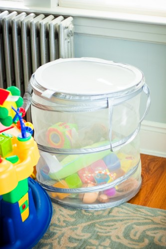ikea hamper toy storage solution