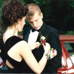 Sean and I at my senior Prom
