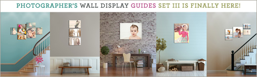 Wall Display Templates for Photographers